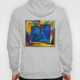 Extroversion Digital Art Abstract Art By Annie Zeno  Hoody