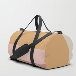Neutral Retro Sunset Duffle Bag