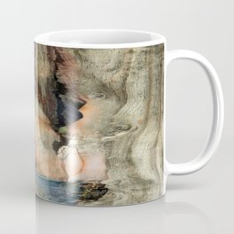 Nude on nervous board Coffee Mug