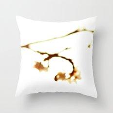 a blur of blooms 2 Throw Pillow