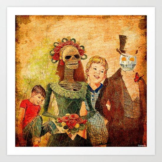 le mariage de Marcel et Lucette Art Print
