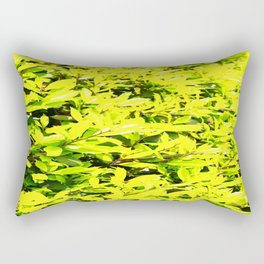 Holly Sunshine to Brighten Up Your Brand New Day Rectangular Pillow
