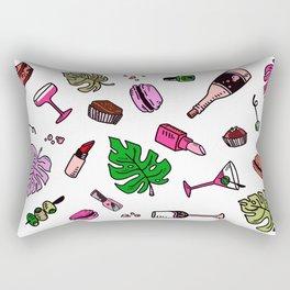 Marta, In Color Rectangular Pillow