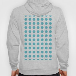 Simply Polka Dots in Seaside Blue Hoody