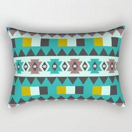 Aztec geometric pattern Rectangular Pillow