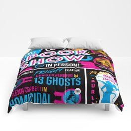 Spook Show Tribute Poster 01 Comforters