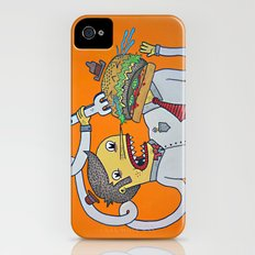 Siamese Burger Person Slim Case iPhone (4, 4s)