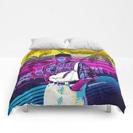 Fresh Prince retro art Comforters