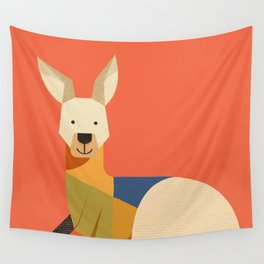Kangaroo Wall Tapestry