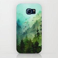 Mountain Morning Galaxy S8 Slim Case