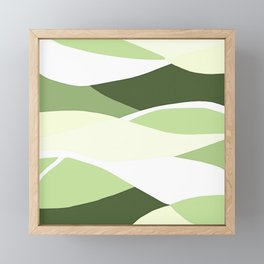 Celery Vibrations Framed Mini Art Print