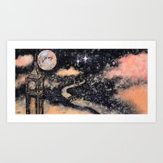 Second Star to the Right and straight on till Morning Art Print