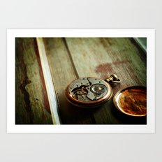 The Conductor's Timepiece - 2 Art Print