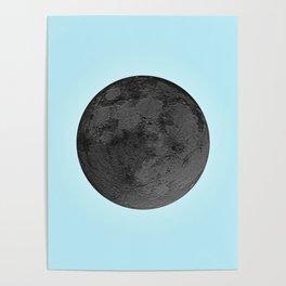BLACK MOON + BLUE SKY Poster