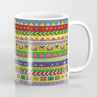forever young Mugs featuring Forever Young by Bianca Green