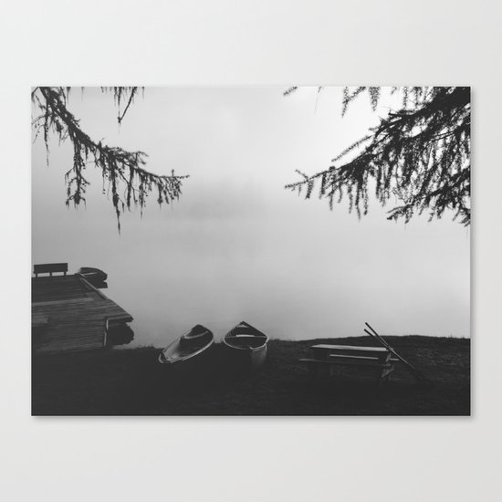 Gillette Lake Canvas Print