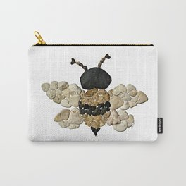 Heart Rock Bumble Bee Carry-All Pouch