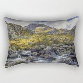 Tryfan Stream Rectangular Pillow