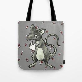 Dirty Rat bloody Teeth Tote Bag