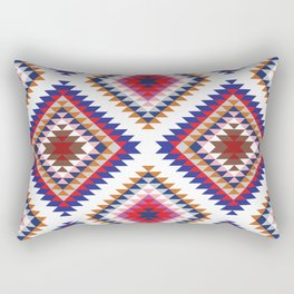 Aztec Rug Rectangular Pillow