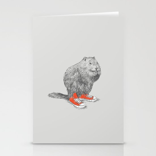 Woodchucks Stationery Cards