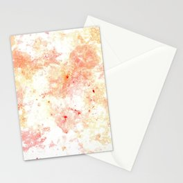 Warm bubbles Stationery Cards