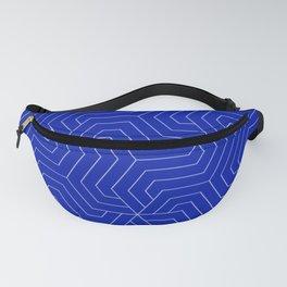 Blue (Pantone) - blue - Modern Vector Seamless Pattern Fanny Pack