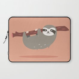 Sloth card - hello beautiful Laptop Sleeve