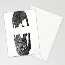 Razor Skull Stationery Cards