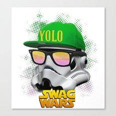 Stormtrooper Swag Canvas Print
