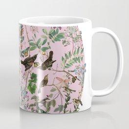Bird menagerie mauve Coffee Mug