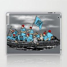 Team Zissou Crossing the Delaware Laptop & iPad Skin