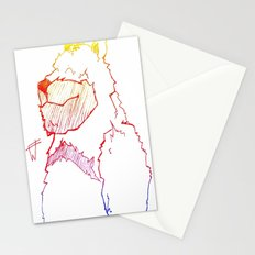 Bear Color Stationery Cards