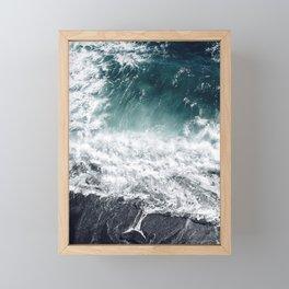Cliff Life Framed Mini Art Print
