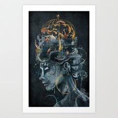 Dream in a Cage Art Print