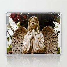 The angel prays Laptop & iPad Skin