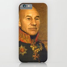 Sir Patrick Stewart - replaceface iPhone 6s Slim Case