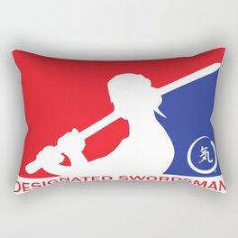 Designated Swordsman Rectangular Pillow