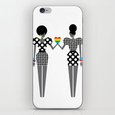 Totally in Love Girls (LGBT) iPhone & iPod Skin