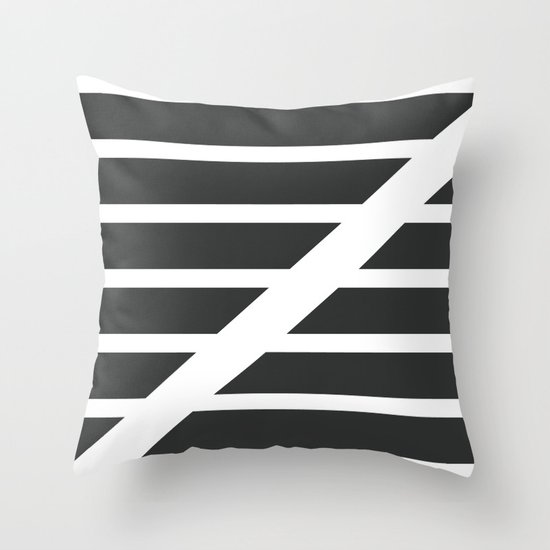 "Redzone ""Z"" Pillow Throw Pillow"