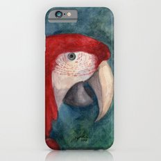 Red Macaw iPhone 6s Slim Case