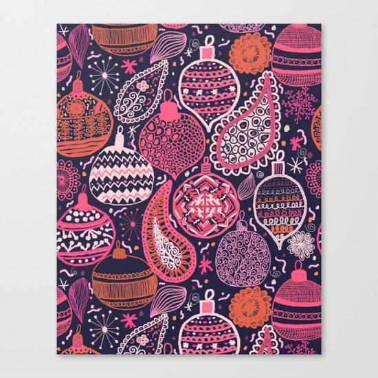 Bohemian Christmas Canvas Print