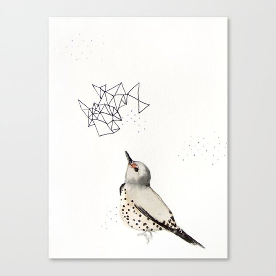 Northern Flicker Canvas Print