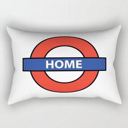 Underground Home Sign Rectangular Pillow