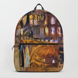 John Singer Sargent - The Hagia Sophia - Digital Remastered Edition Backpack