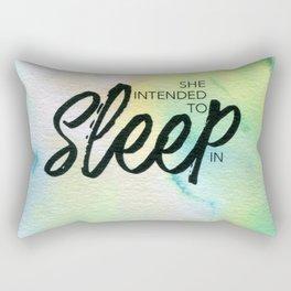 Beyond the Lines 34 Rectangular Pillow