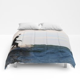 Water-dancer II Comforters