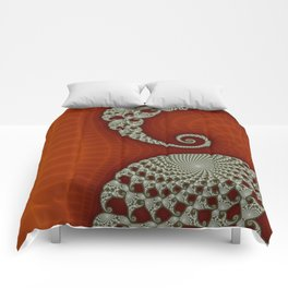 Cresting Lace Wave Comforters