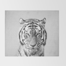 Tiger - Black & White Decke