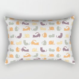 Cat day Rectangular Pillow
